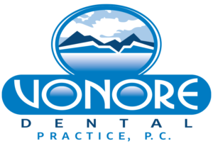 vonor dental practice logo vertical